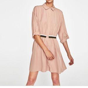 Zara Shirt Dress NWT